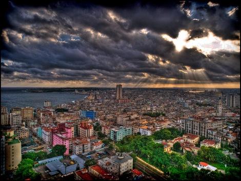 Habana - desde el piso 19 del habana libre by joseba m. arginzoniz martin